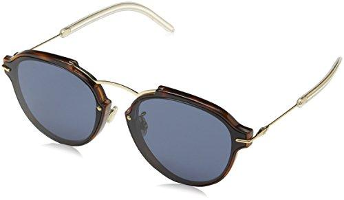 Dior Damen DIORECLAT 72 UGM Sonnenbrille, Hvn Rose Gold/Bluee, 60