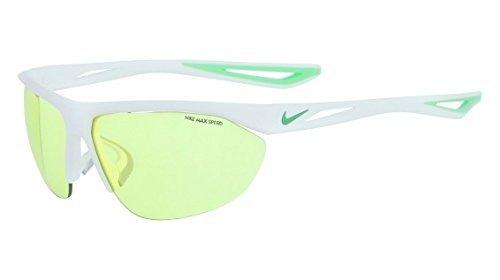 Sunglasses NIKE TAILWIND SWIFT E EV0948 103 MT WH/SPRGLEF/MAX VOLT TINT image