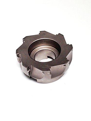 """hhip 90Grad APKT indexable Face Mühle (verschiedene Größen: 5,1cm–12,7cm), 4"""" Cutting Dia, 1-1/2"""" Hole, 1"""