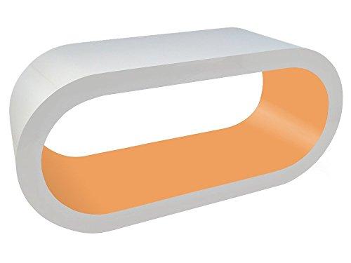 Zespoke Design Tableau Blanc D'Ambre Cerceau Café TV/Meuble en Différentes Tailles