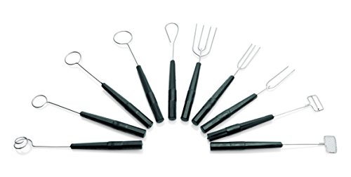 Set mit 10 Stück Tunkgabeln (Dipping-Fork) Dipping-fork Set