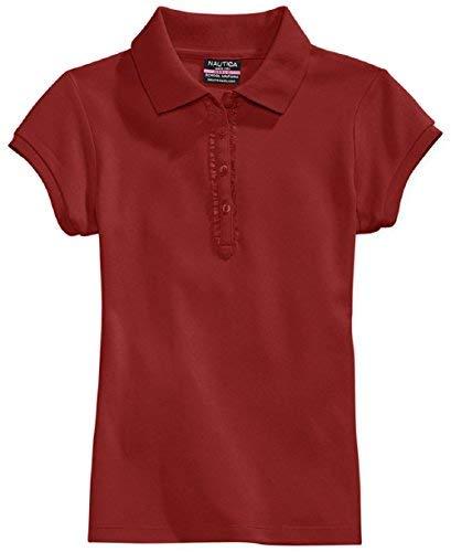Nautica Jungen Poloshirt, kurzärmelig, Gr. 4-7 - Rot - X-Large 7X