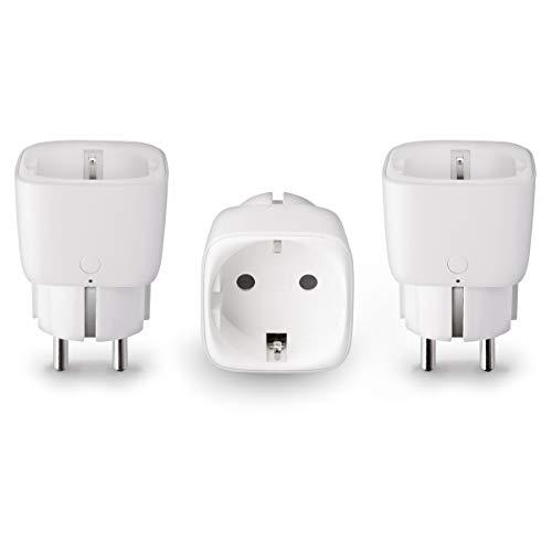 Innr SmartPlug, 3 Pack de Prises Connectée (pilotable via smartphone, compatible avec...
