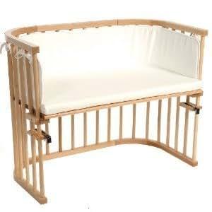 babybay 165101 maxi lettino agganciabile al letto verniciatura naturale con materasso e. Black Bedroom Furniture Sets. Home Design Ideas