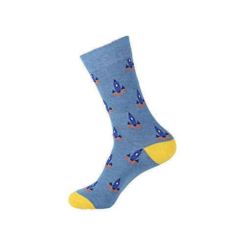 Eanijoy Lustige lässige Baumwollsocken, Crew Socke, Big Size Cotton Men's Crew Socks Harajuku Hiphop Happy Colorful Black Funny Novelty Dress Socks For Male Christmas Gift - Socke Affe Kostüm Für Hunde