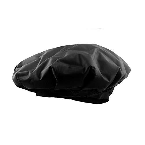 JCPGW Backöl Heat Gel Cap Haartrockner Wrap Heat Praktische Haarpflege Beauty Steamer SPA Beheizte und kalte Friseurhaube,Black -