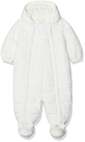 United Colors of Benetton Overall, Pantalones de Peto Bebé-Niños, Blanco (Off White...