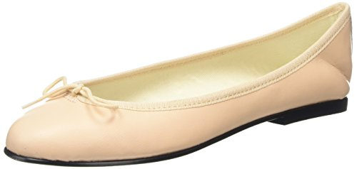 French Sole India Leather, Ballerine Donna Pink (Pink)