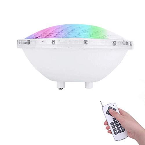 coolwest RGB PAR56Pool Faro resistente al agua IP68LED piscina iluminación bajo agua lámpara para lámpara halógena DC/AC 12V