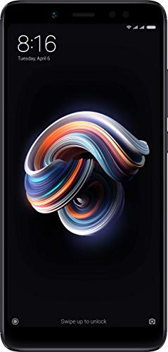 Redmi Note 5 Pro (Black, 6GB RAM, 64GB Storage)