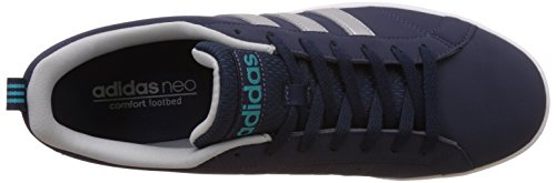 adidas neo Men's Vs Advantage Conavy, Msilve and Clonix Sneakers - 11 UK/India (46 EU)