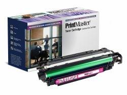 PrintMaster Magenta Toner Cartridge for HP Laserjet Enterprise 500 Color M551 Series, MFP M570 dn/-M575c, Canon LBP-7780 -