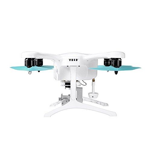 Ehang GHOSTDRONE 2.0 Aerial RC + Quadrocopter mit 3-Achsen Hochpräzisionsgimbal &4K HD Sports Actionkamera, iOS/Android APP Bedienung, 25 Min Flugdauer, Bis zu 1000m Sendebereich,Weiß - 3