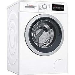 Bosch Serie 6 WAT32409FF Autonome Charge avant 9kg 1600tr/min A+++-30% Blanc machine à laver - Machines à laver (Autonome, Charge avant, Blanc, boutons, Rotatif, Gauche, LED)