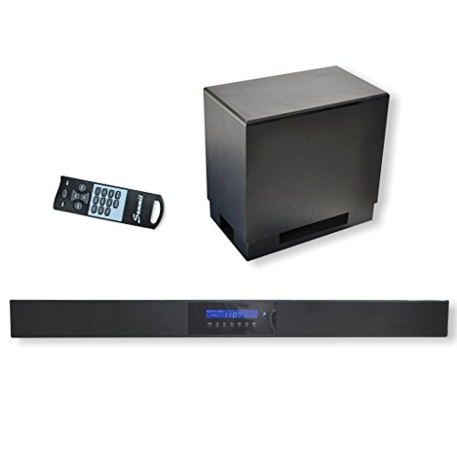 Summit Soundbar A50-1000 - High End Yamaha Digital-Sound-Prozessor 5.1 - Soundbar, Wireless Subwoofer, Fernbedienung - Bluetooth