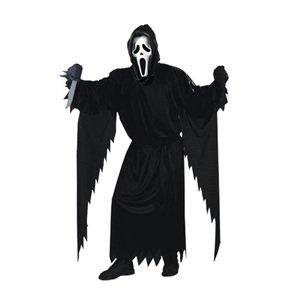 Scream Kostüm für Erwachsene (Ghostface Kostüm)