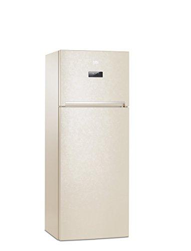 Beko RDNE455E20B Libera installazione 313L 93L A+ Beige frigorifero con congelatore