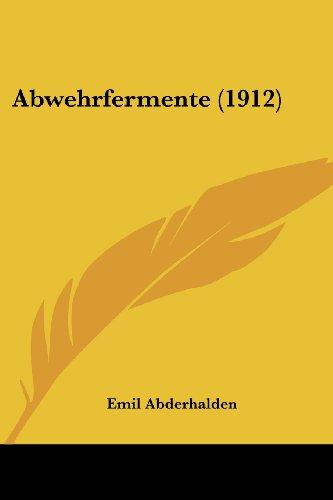 Abwehrfermente (1912)