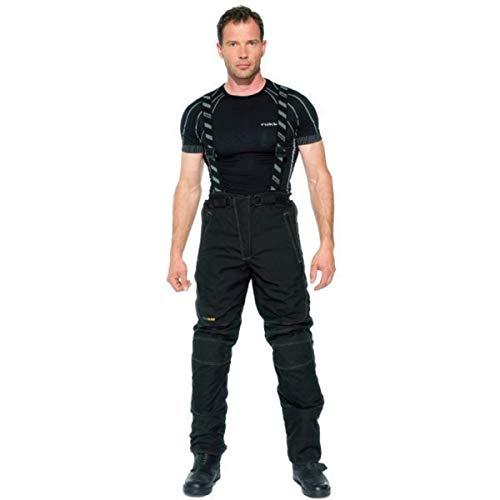 Rukka Unit Pantaloni da uomo, neri, 48 (+ 7 cm di lunghezza della gamba)