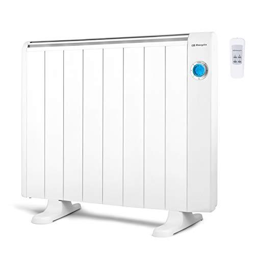 Orbegozo RRE 1510 Emisor Térmico Bajo Consumo, 8 Elementos de Calor, Pantalla Digital LCD,...