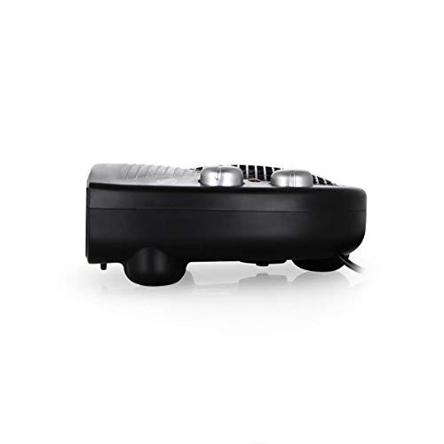 Orbegozo FH- 5028 Calefactor eléctrico con termostato ajustable,  2000 W de potencia,  2 posiciones de calor y función ventilador