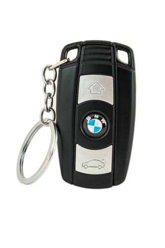 feuerzeug ohne gas BMW Sturmfeuerzeug Schlüsselanhänger Zigarettenanzünder Mit Sehr Heller LED Ohne Box