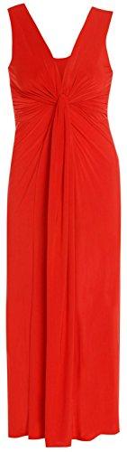 Chocolate Pickle ® Femmes Twist Knot Groupe grecque Boob longue Maxi robe de soirée red