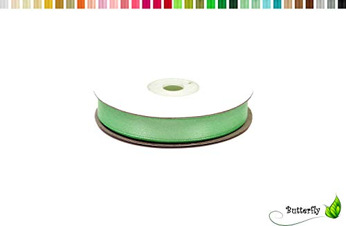 Creativery Satinband 12mm x 25m Mint Band Mint -