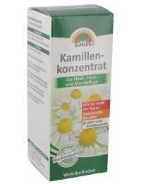 Kamillenkonzentrat Sunlife zur Haut-,Haar- und Mundpflege 100 ml