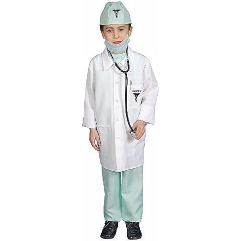 Dress Up America - Disfraz premiado de médico deluxe, niños 3-4 años (207G-T2)