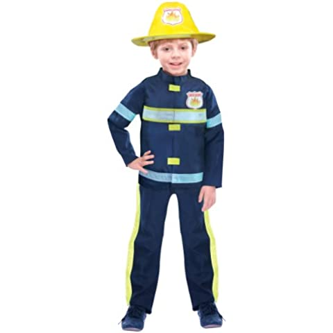 Christy`s 996289 - Disfraz de Bombero para niño