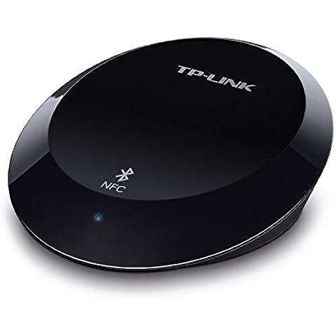 TP-LINK HA100 - Receptor de Música Bluetooth (Conecte con su dispositivo Bluetooth o NFC, 3.5 mm o RCA, alcance hasta 20 metros, Bluetooth 4.1 y