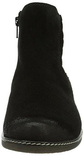 Gabor Shoes - Gabor Comfort, Stivali chelsea Donna Nero (Schwarz (schwarz (Micro)))