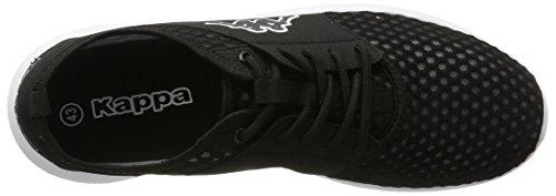 Kappa Unisex-Erwachsene Sol Sneaker Schwarz (1110 black/white)