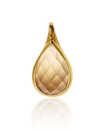 MyGold ciondolo (senza catena) oro 333gemma citrino lucido Betty v0011127