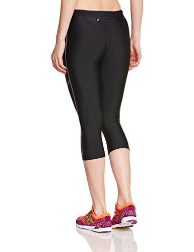 Ultrasport-10153-Pantalones-3-4-para-mujer-color-negro-morado-talla-M