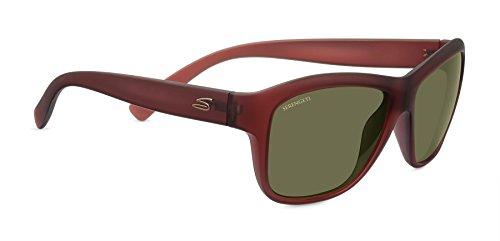 Serengeti Eyewear Sonnenbrille Gabriela, Sanded Crystal Wine, M, 7948