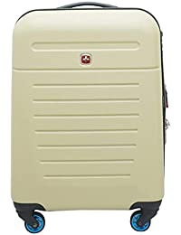 Swiss Gear ABS 69 cms Gold Hardsided Cabin Luggage (7789262154)