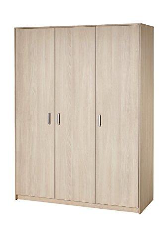 Schardt 06 493 04 00 Kleiderschrank mit 3 Türen, Classic Buche - Buche Kleiderschrank