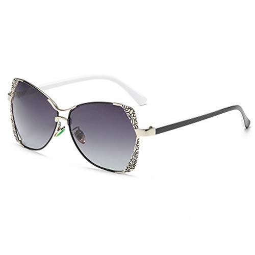 FYrainbow Damen-Sonnenbrillen, polarisierte Sonnenbrille eignen Sich am besten zum Angeln Golf Golf Outdoor-Reisen Anti-Glare TAC-Objektive UV400,C
