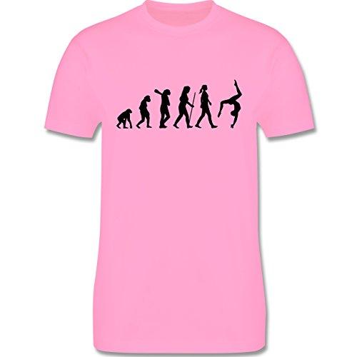 Evolution - Turnen Evolution - Herren Premium T-Shirt Rosa