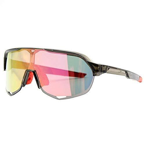 ZKAMUYLC SonnenbrilleUnisex Sport Sonnenbrillen Rennrad Brille Mountainbike Fahrrad Reiten Schutz Brillen Sonnenbrille Reitbrille