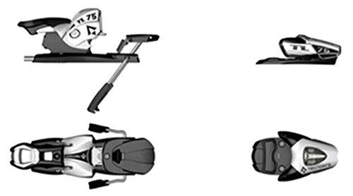 Tecnopro Ski Alpin Bindung N TL75 B80 Weiss/Schwarz, One Size