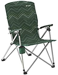 Outwell Harber Hills Camping Chair - Green/Blue/Black -