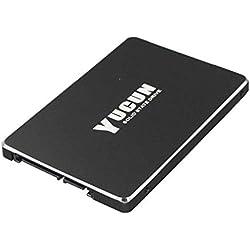 YUCUN 2,5 Pouces SATA III Disque Flash SSD 480 Go Interne Solid State Drive Grande Endurance Grande Vitesse R570 480GB
