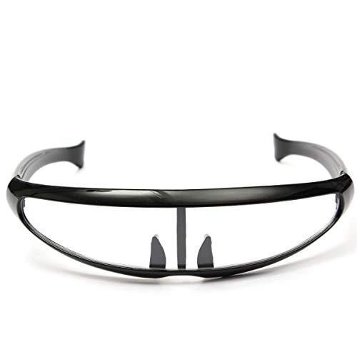 Motocross Occhiali Occhiali da sole alla moda alla moda protezione UV400 Per gli sport esterni (Colore : 04)