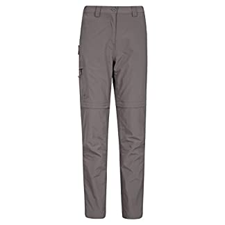 Mountain Warehouse Explore Womens Convertible Trousers - Antimosquito Ladies Pants, Light Winter Bottoms, Fast Dry Shorts, Casual Work Pants - for Travelling, Camping 3
