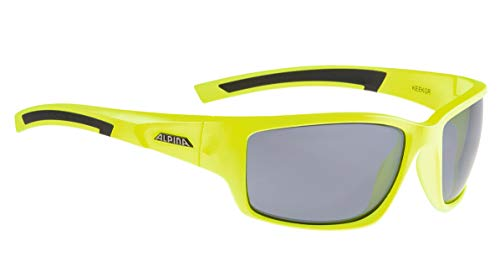 ALPINA Erwachsene GRAP 2.0/L.E. Skihelm, neon Yellow-Black, One Size
