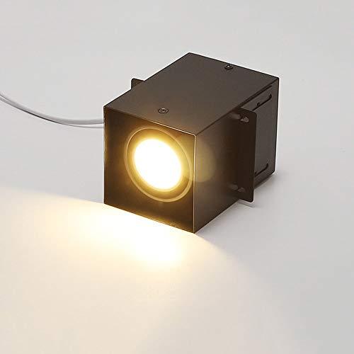 Modenny Cuadrado Tiendas LED Abajo Lámpara De Aluminio Empotrada Lámpara de Techo...