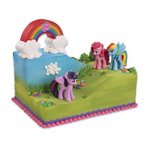 My Little Pony Kuchendekorationsset